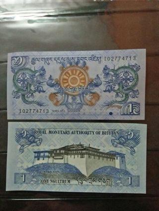 BHUTAN UNC BANKNOTE
