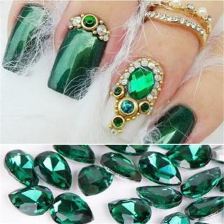 20pc Drop Water Rhinestone Crystal Stone DIY Glitter Jewelry Nail Art Decoration