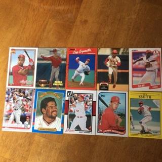 (42) St. Louis Cardinals Baseball Cards Lot