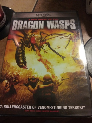Dragon Wasps Dvd Factory Sealed