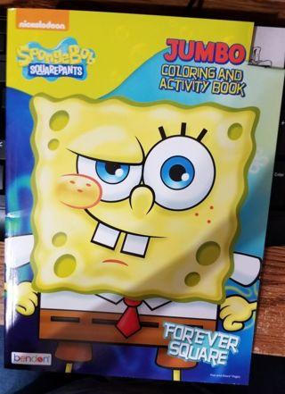Sponge Bob Squarepants Coloring book