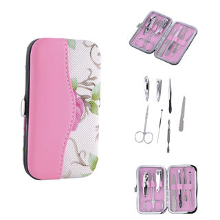 7PCS Stainless Steel Pedicure/Manicure Nail Clippers Callus Pedicure Kit Set