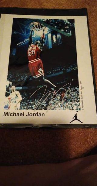 Michael Jordan Facismile