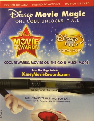 Free: Beauty and the Beast DMA digital HD code - Other DVDs