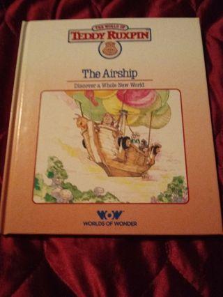 Teddy Ruxpin The Airship