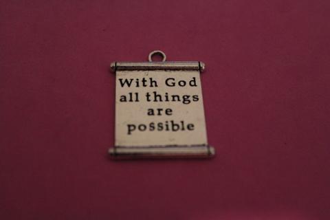 With God Charm