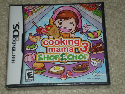 Nintendo DS Cooking Mama Shop & Chop NEW