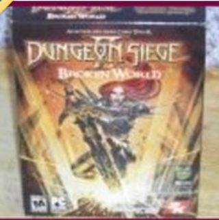 1 NEW IN PACKAGE DUNGEON SIEGE P.C. VIDEO GAME THE EXPANSION TO AWARD WINNING DUNGE0N SIEGE II