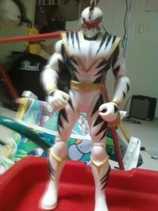 White Power Ranger Action Figure