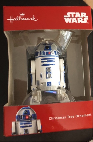 Hallmark Star Wars r2-d2 Christmas ornament free shipping