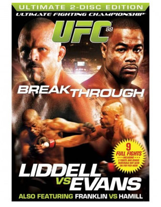 Brand New Sealed UFC 88 Breakthrough (2 Disc Set)