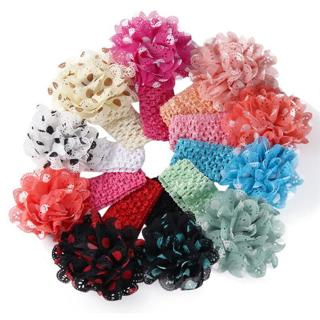 10 colors best gift Girls Boys Baby Headbands Flower Hair Accessories Infant Hair Band horquillas