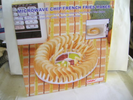 New Okay Microwave Chip French Fries Maker Free Shipping