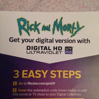 Free: Rick and morty season 1, digital hd uv code - Other