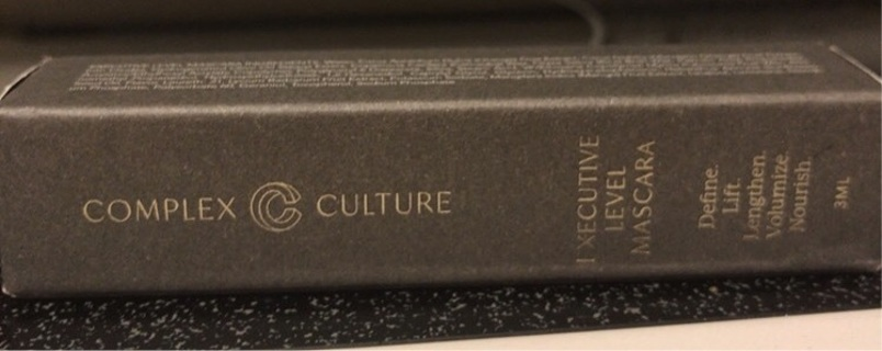 Complex culture executive level mascara