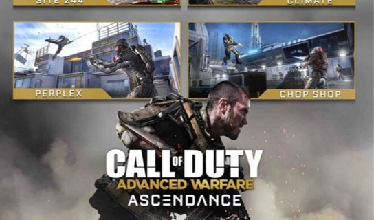 COD Advanced Warfare Ascendance Map Pack