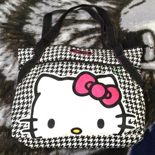 VTG Hello Kitty Bag Sanrio Shoulder Bag Tote FREE SHIPPING