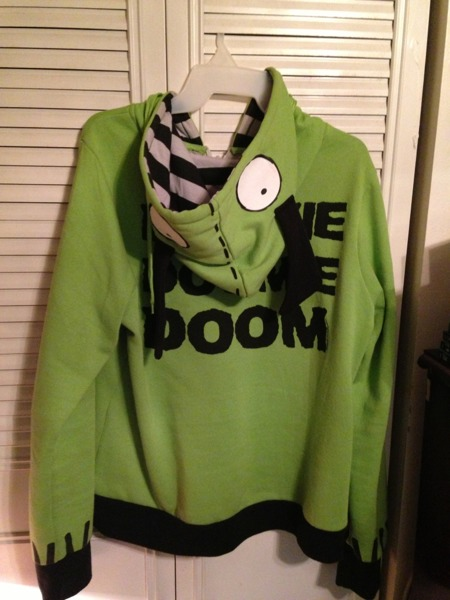 Free Hottopic Invader Zim Gir Hoodie Xxl Jrs Other