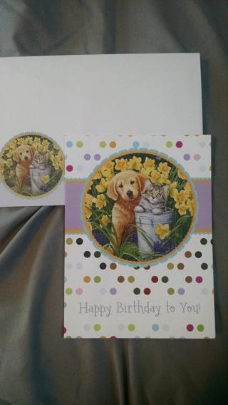 Cute Birthday Card wth Envelope! -- NEW!!