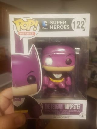 "Pop superhero 122 ""The Penguin"" Imposter"