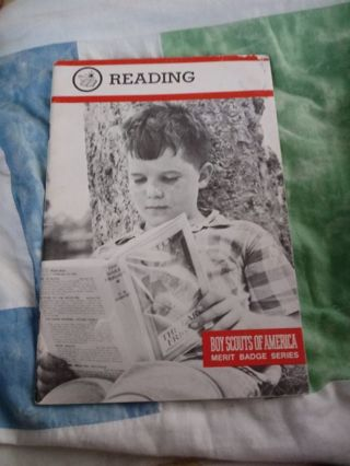 Boy Scouts of America Merit Badge Series Book Reading