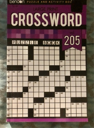 "Brand New 8x5"" Paperback Of 63 Crossword Puzzles. Andwers Incld."