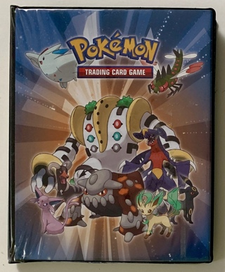 Huge Lot of 54 Pokemon Mixed Trading Cards with 12 Rare, 20 Uncommon, 22 Common in Collector's Album