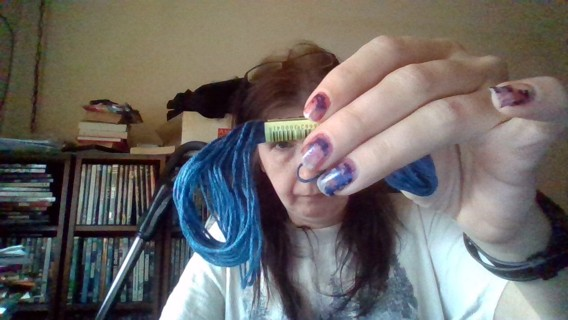 *Relist* Blue Embroidery Floss Color # 311