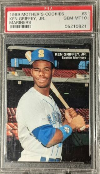Free Ken Griffey Jr Rookie Card Psa Graded Gem Mint 10