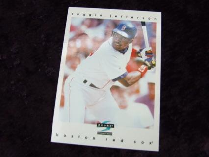 1997 Reggie Jefferson Boston Red Sox Score Card #110
