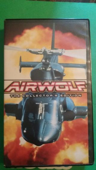 vhs airwolf  falen angel free shipping