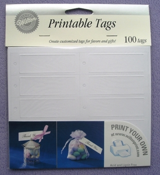 free new wilton 100 printable favor tags other With www wiltonprint com favor templates