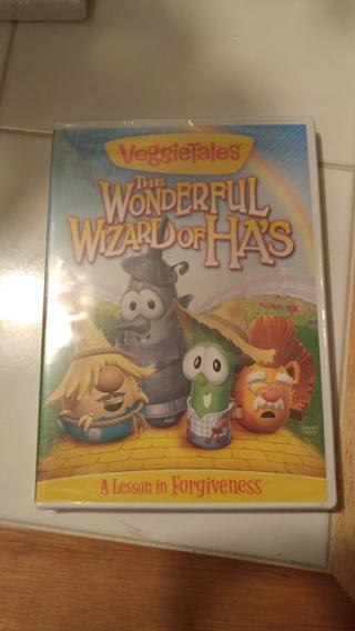 Brand new Veggie Tales - The Wonderful Wizard of Ha's