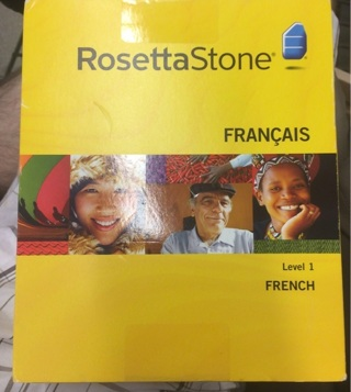 Rosetta Stone French level one new in package