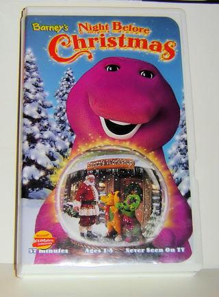 Free Barney S Night Before Christmas Vhs Vhs Listia