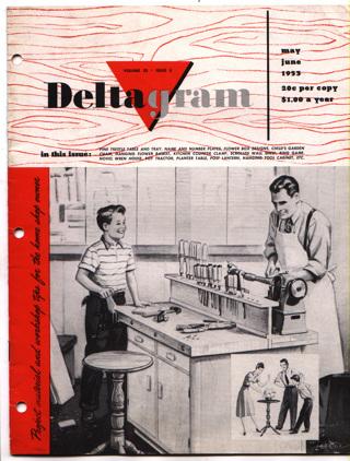 Vintage Deltagram Woodworking Workshop Projects Booklet