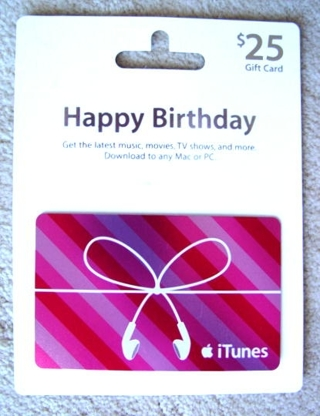 Free Itunes Gift Card Happy Birthday Gift Cards Listia
