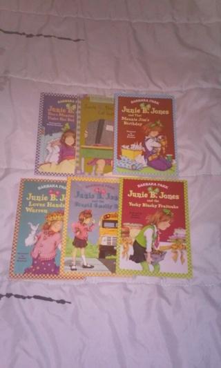 6 Junie B. Jones books