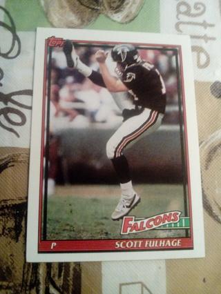 Topps #573 Scott Fulhage