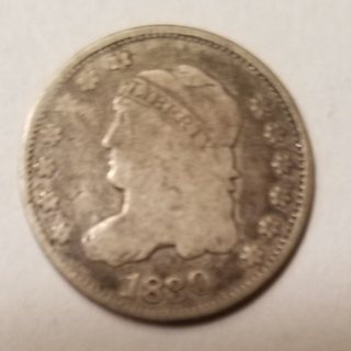 1830 (190 Years Old) USA Capped Bust Half Dime