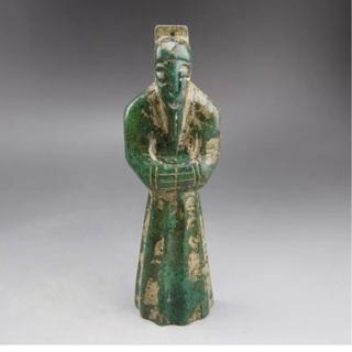 Antique Pre 1800 Chinese Jade Figure