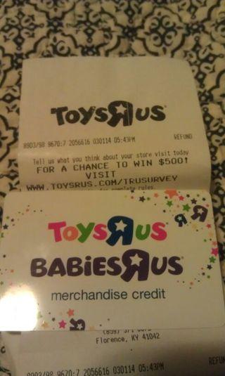Babies R Us Gift Card At Toys R Us Mediamarktclubgrandprix