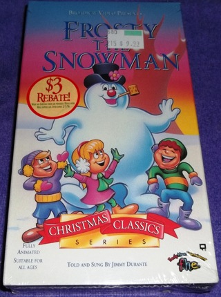 frosty the snowman vhs new unopened christmas classic series - Christmas Classic