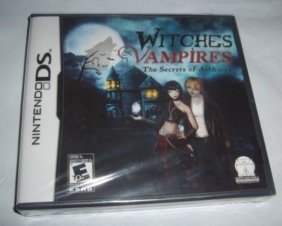 DS witches & vampires the secret of ashburry  brand new sealed