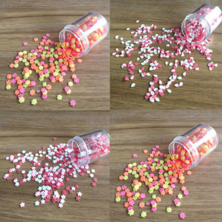 30g Polymer Clay Fake Candy Sweets Simulation Creamy Sprinkles Phone Shell Decor