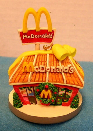 Mcdonalds Christmas Ornament.Free L121 1996 Mcdonalds Christmas Ornament 1969 Restaurant
