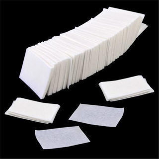 [GIN FOR FREE SHIPPING] 900PCs Acrylic UV Gel Tips Cotton Nail Polish Remover Cleaner Wipes
