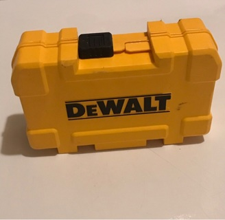 DeWalt bit and small tool case
