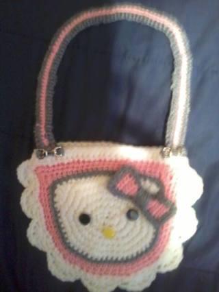 Free Crochet Hello Kitty Purse Pattern Crochet Listia