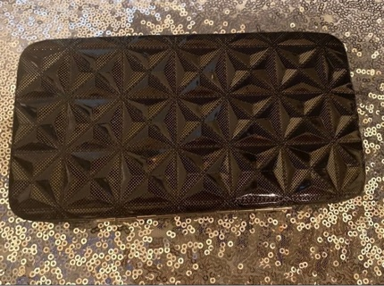 Brown Patent Leather 3D Style Wallet